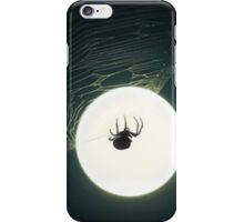 Spider in the moonlight - iphone case iPhone Case/Skin