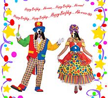 Happy Birfday A-rooh greeting card by pateabag
