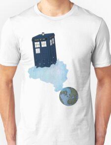 Tardis leaves Earth T-Shirt