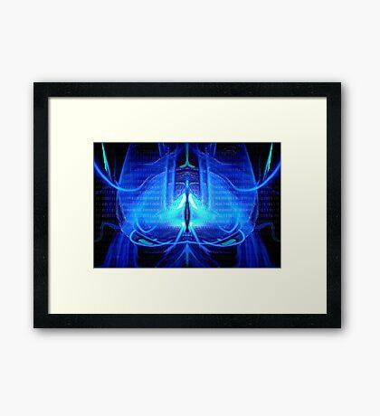 ©NLE-DA Mr. Brainlight Framed Print