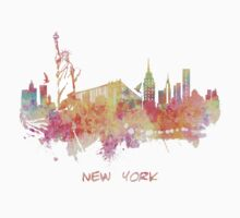 New York skyline  Kids Tee