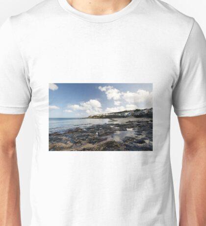 The Beach at Portscatho  Unisex T-Shirt