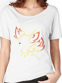 Fennekin Tribal - Colored Women's Relaxed Fit T-Shirt