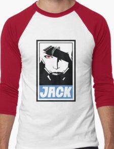 Obey the Ripper Men's Baseball ¾ T-Shirt