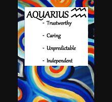 Abstract aquarius horoscope shirt Unisex T-Shirt