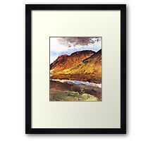 a trip to the Highlands Framed Print