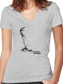 Alex Turner- Thunderstorms Women's Fitted V-Neck T-Shirt