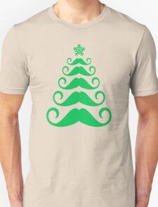 Mustache Christmas Tee Shirt T-Shirt