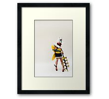 Blank Page Framed Print