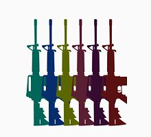 Multicolored AR-15s Unisex T-Shirt