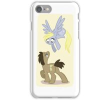 Doctor Whooves and Derpy iPhone Case/Skin