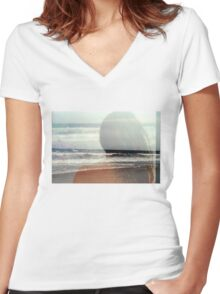 That Summer Women's Fitted V-Neck T-Shirt
