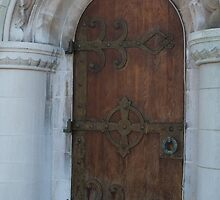 Gold Brass Door Hunt by Connie Thomase