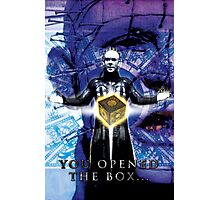 "Pinhead Hellraiser ""You Opened the Box..."" Photographic Print"
