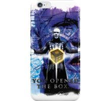 "Pinhead Hellraiser ""You Opened the Box..."" iPhone Case/Skin"