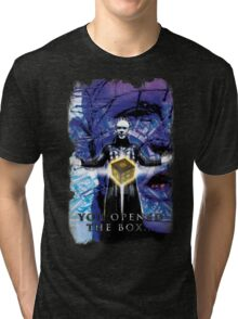 "Pinhead Hellraiser ""You Opened the Box..."" Tri-blend T-Shirt"