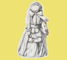 Corn Doll  One Piece - Short Sleeve