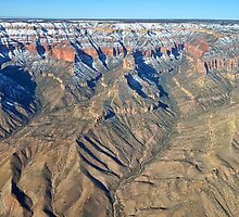 Winter Flight Over the Grand Canyon VII by HDTaylor