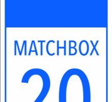 Matchbox 20 Sticker
