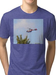 Media Helicopter Tri-blend T-Shirt