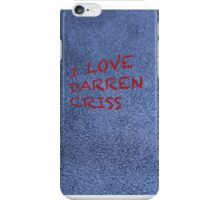 I love Darren Criss iPhone Case/Skin