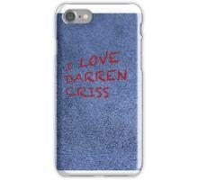 I love Darren Criss iPhone Case/Skin