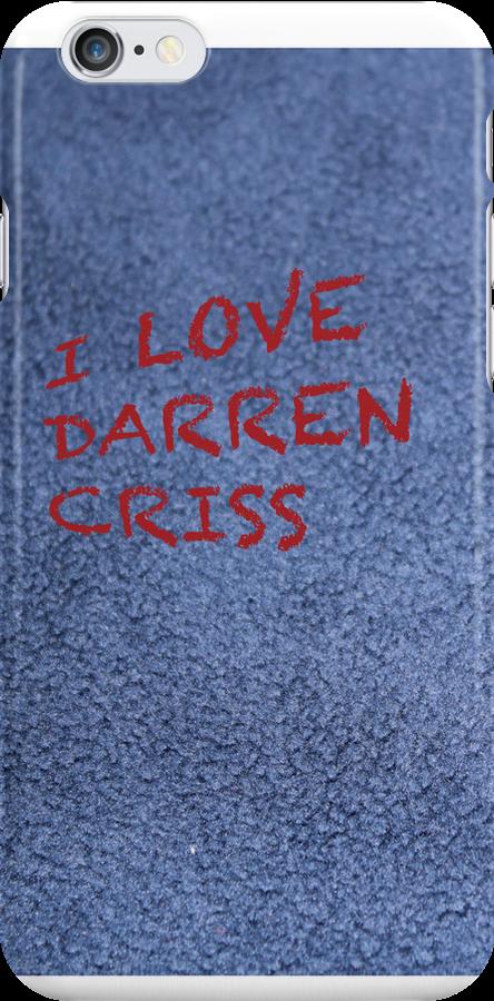 I love Darren Criss by aussiecandice