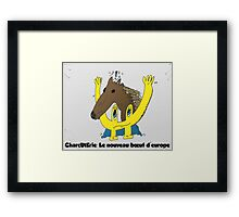 BD scandale charcuterie boeuf europe Framed Print