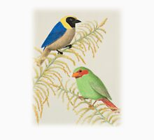 Golden-collared Tanager and Grass-green Tanager Unisex T-Shirt