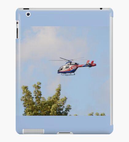 Media Helicopter iPad Case/Skin