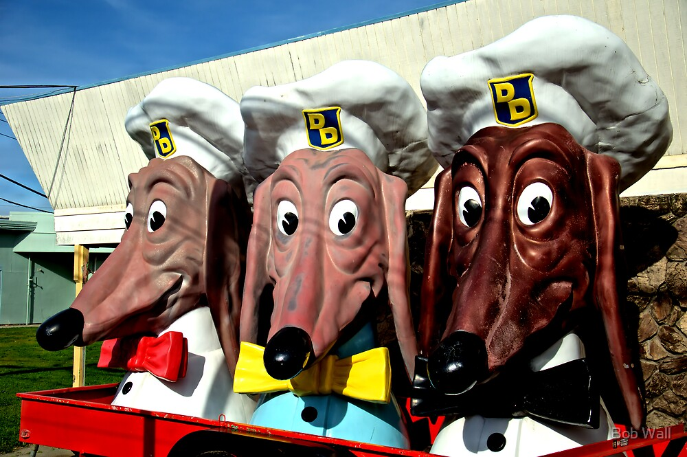 Doggie Diner by Bob Wall