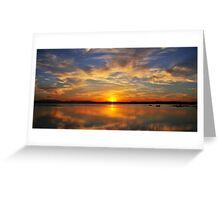 Sunset @ Forster Greeting Card