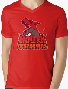 Monster Hunter All Stars - Molten Destroyers Mens V-Neck T-Shirt