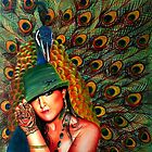 Peacock Lady by Ciska