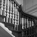 Drayton Hall Staircase by jeffreynelsd