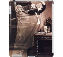 Ghost Attack Vintage photograph iPad Case/Skin