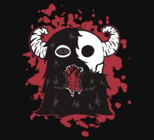 Skullface Monster Has Your Heart (Splatter Version) Kids Clothes