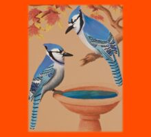 Blue Jays In Fall by jkartlife