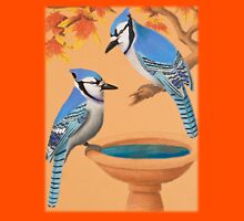 Blue Jays In Fall Unisex T-Shirt