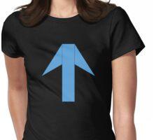 CH1 Blue Panda Emblem Womens Fitted T-Shirt