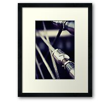 A wire Framed Print