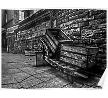 Empty Barrow.  Poster