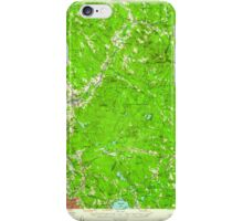 USGS TOPO Map New Hampshire NH Suncook 330360 1957 62500 iPhone Case/Skin
