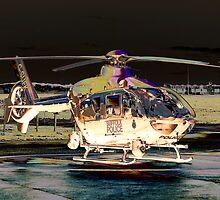 Suffolk Police EC135 P2+ by lynxpilot