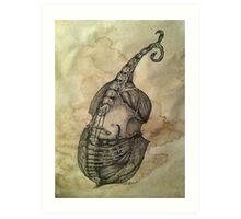 Anatomy of Art Art Print