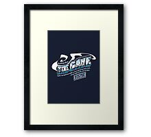 Greetings from The Cave - Characters Framed Print