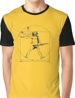 leonardo da guitar Graphic T-Shirt