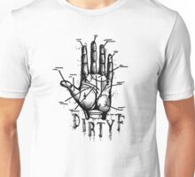 dirty f hand of fortune Unisex T-Shirt