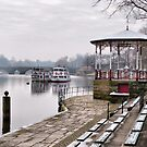 The Bandstand -Chester. by Lilian Marshall