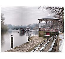The Bandstand -Chester. Poster